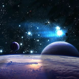 Earth Outer Space Planet Universe PNG