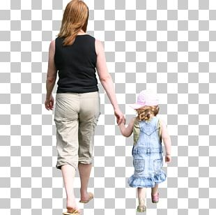 Walking Child Rendering Mother PNG