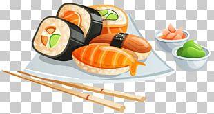 Sushi Japanese Cuisine PNG