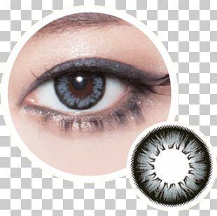 Contact Lenses Color Circle Contact Lens Blue Paint PNG