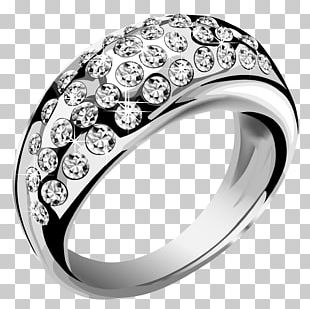 Ring Jewellery Silver PNG