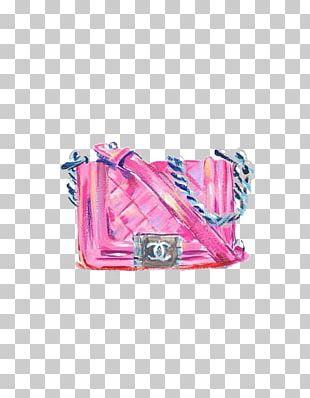 Chanel No. 5 Coco Bag Cushion PNG
