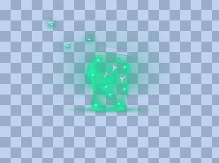 Green Turquoise Pattern PNG