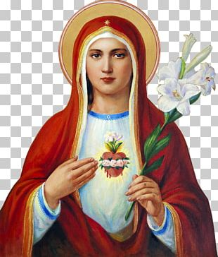 Immaculate Heart Of Mary Sacred Heart Feast Of The Immaculate Conception PNG