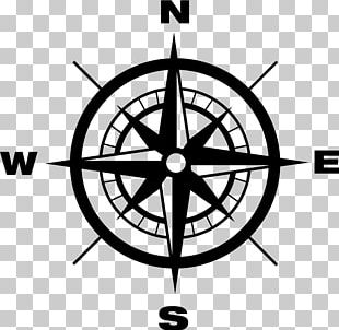 North Cardinal Direction Compass PNG