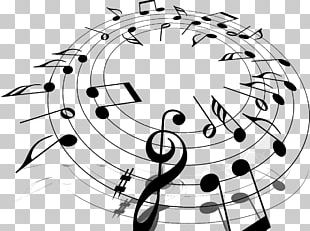 Microsoft PowerPoint Musical Note Background Music Presentation PNG
