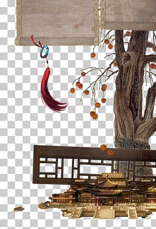 China Gongbi Chinese Painting Art PNG