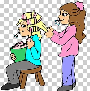 Cosmetologist Barber Animation PNG