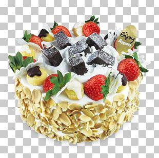 Cream Pie Chocolate Cake Fruitcake Torte PNG