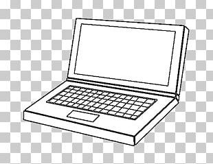 Laptop Colouring Pages Coloring Book Computer PNG