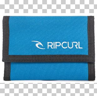 Wallet Rip Curl Blue Surfing Coin Purse PNG