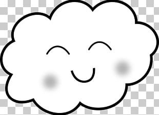 Drawing Cloud Rain PNG