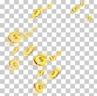 Gold Coin Computer File PNG