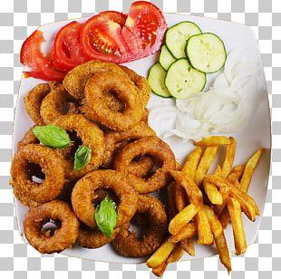 Onion Ring Fast Food Pakora Junk Food Fried Onion PNG