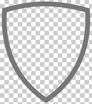White Circle Angle Black PNG