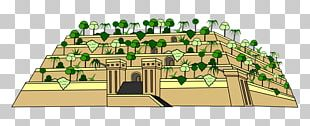 Hanging Gardens Of Babylon Seven Wonders Of The Ancient World PNG