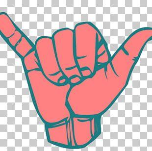 Shaka Sign T-shirt Aloha Hawaii Sign Language PNG