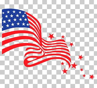Flag Of The United States Happy Fourth Of July! Independence Day PNG