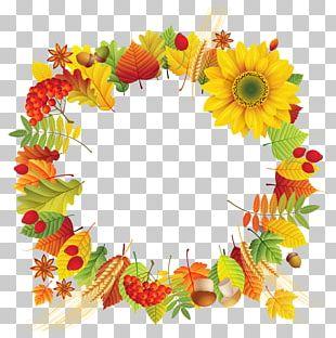 Wreath Cut Flowers Leaf PNG