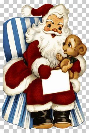 Santa Claus Christmas Card Gift PNG