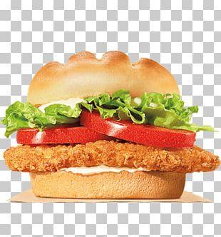 Whopper Chicken Sandwich TenderCrisp Hamburger Burger King Specialty Sandwiches PNG