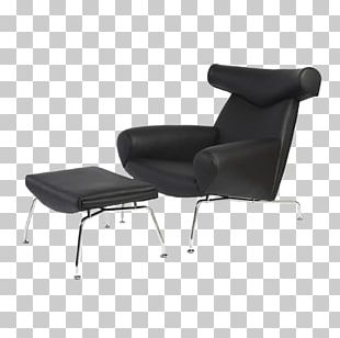 Eames Lounge Chair Egg Club Chair Furniture PNG