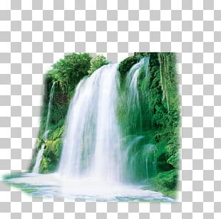 Nature Landscape Fabric PNG
