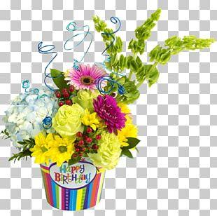 Floral Design Flower Bouquet Birthday Birth Flower PNG
