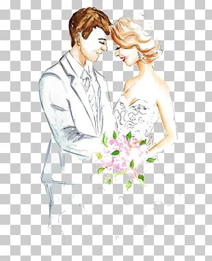 Marriage Drawing Engagement Sketch PNG