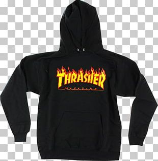 Hoodie T-shirt Thrasher Sweater PNG