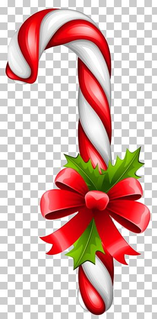 Candy Cane Lollipop Christmas PNG