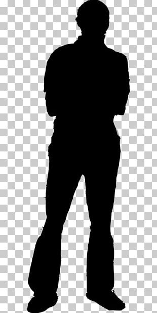 Silhouette Man Person PNG