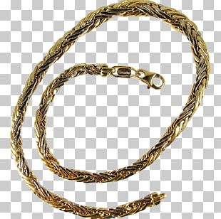 Chain Jewellery Necklace Bracelet Gold PNG