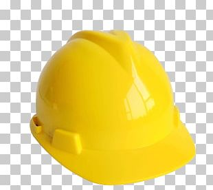 Hard Hat Cap Yellow PNG