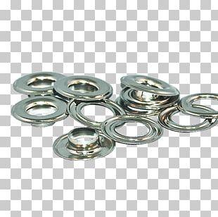 Metal Washer Brass Grommet Nickel PNG