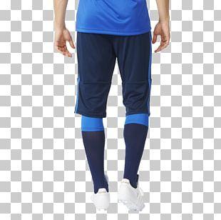 T-shirt Blue Adidas Pants Tights PNG