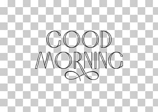 Calligraphy Typography Morning PNG