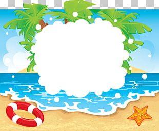 Beach Summer Vacation PNG