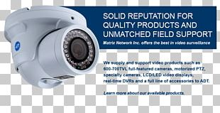 Closed-circuit Television ADT Inc. Wireless Security Camera Video Cameras Surveillance PNG
