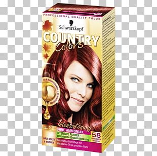 Hair Coloring Human Hair Color National Colours Red PNG