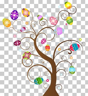 Easter Egg Tree PNG