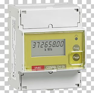 Electricity Meter Kilowatt Hour Three-phase Electric Power Energy DIN Rail PNG