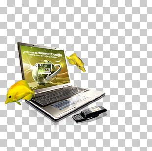 Laptop Web Design Web Page PNG
