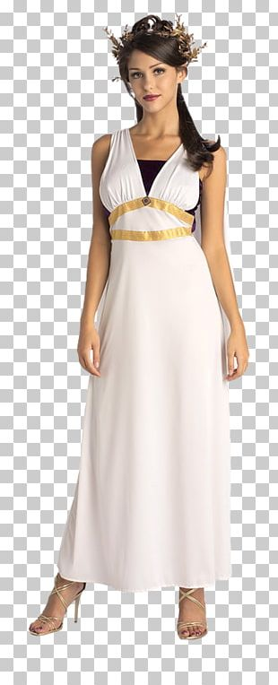 Ancient Rome Costume Party Dress Halloween Costume PNG