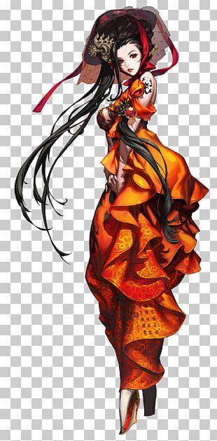 Blade & Soul Concept Art Artist Character PNG
