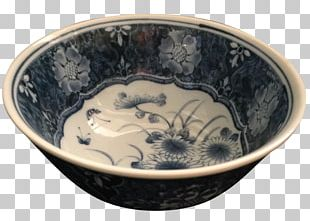 Blue And White Pottery Ceramic Bowl Tableware PNG