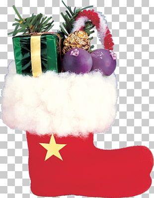 Santa Claus Christmas Day Gift Christmas Stockings PNG