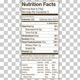 Nutrition Facts Label Sun-dried Tomato Food Snack PNG