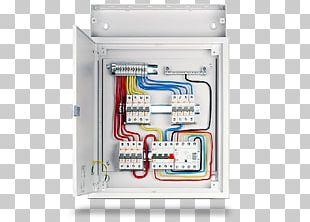 circuit breaker distribution board electrical wires & cable electric power  distribution busbar png
