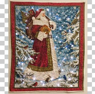 Santa Claus Père Noël Father Christmas Quilting PNG